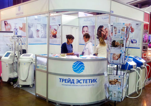 Компания Трейд Эстетик на профессиональной выставке индустрии красоты Невские Берега