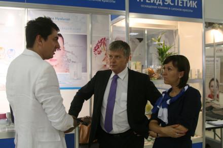 Трейд Эстетик на конгрессе по косметологии и эстетической медицине Невский Берега 2014