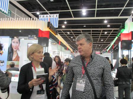Компания Трейд Эстетик на Сosmoprof asia 2013
