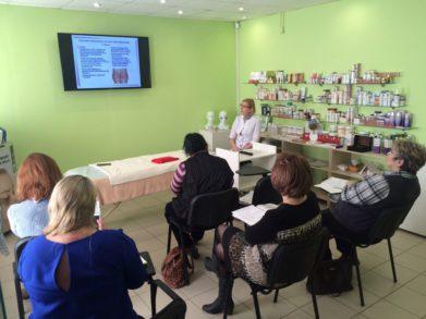 14 марта в обучающем центре в СПб прошел специальный семинар для массажистов и косметологов