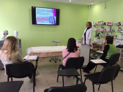 30 мая состоялся специализированный семинар по тематике Уход за чувствительной кожей. Купероз в СПб