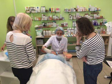 23 августа в СПб состоялся семинар для косметологов по уходу за чувствительной кожей
