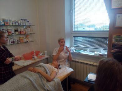 В Москве состоялся семинар по программе «Лицо без отеков; Восточная техника лимфодренажного массажа»