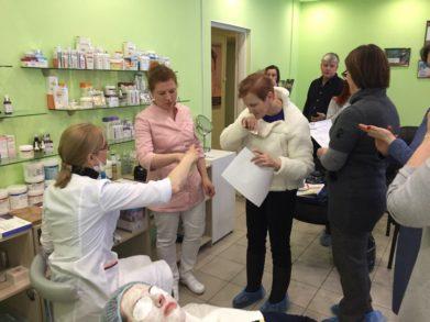 28 февраля года в Санкт-Петербургском центре обучения Трейд-Эстетик состоялся очередной семинар для косметологов