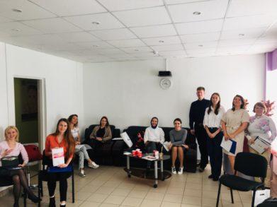 15 сентября на базе обучающего центра  Трейд-Эстетик был проведен первый клиентский день